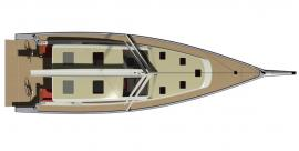 Surfari 53 Deck Plan